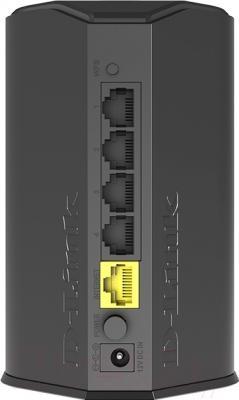 Беспроводной маршрутизатор D-Link DIR-300A - порты подключения и питания