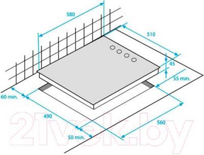 Электрическая варочная панель Beko HIC64101X