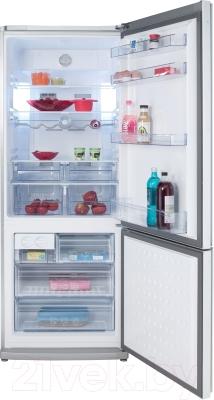 Холодильник с морозильником Beko CNE47520GW
