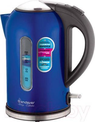 Электрочайник Endever Skyline KR-219S (синий)