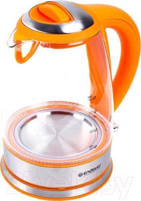 Электрочайник Endever Skyline KR-317G (оранжевый)
