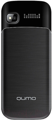 Мобильный телефон Qumo Push 280 Dual (черный)