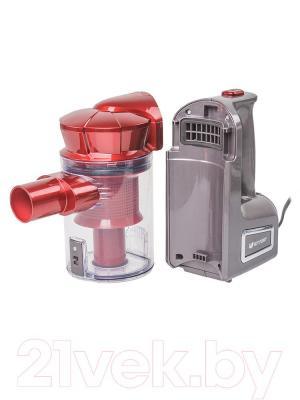 Вертикальный пылесос Kitfort KT-513-1 (красный) - пылесборник