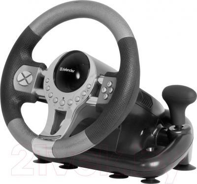 Игровой руль Defender Forsage GTR