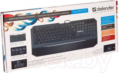Клавиатура Defender Oscar SM-600 Pro - упаковка