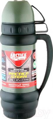 Термос для напитков Арктика 109-1000М (зеленый)
