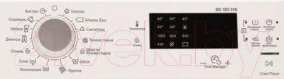 Стиральная машина Electrolux EWS1064SAU - панель управления