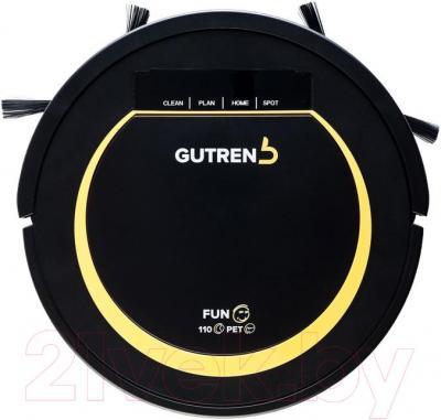 Робот-пылесос Gutrend Fun 110 Pet (черно-желтый)