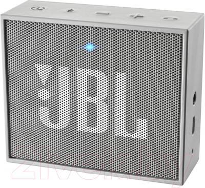 Портативная колонка JBL Go (серый)