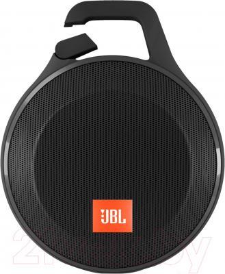 Портативная колонка JBL Clip Plus (черный)