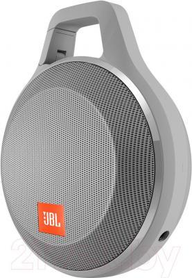 Портативная колонка JBL Clip Plus (серый)