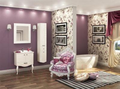 Шкаф-пенал для ванной Акватон Венеция 35 R (1A151003VN01R) - в интерьере