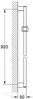 Душевая стойка Hansgrohe Euphoria Cube 27841000