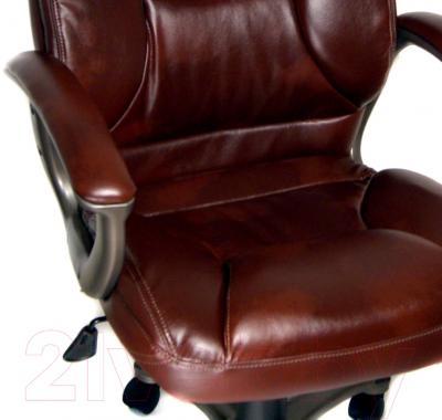 Кресло офисное Деловая обстановка Лагуна А MFT (коричневый)