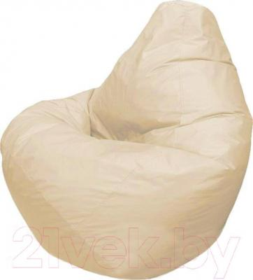 Бескаркасное кресло Flagman Груша Мега Г3.1-13 (светло-бежевый)