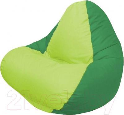 Бескаркасное кресло Flagman Relax Г4.1-012 (салатовый/зеленый)