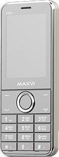 Мобильный телефон Maxvi X500 (серебристый)
