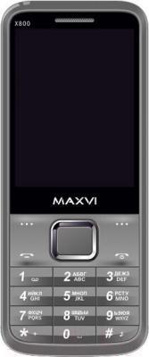 Мобильный телефон Maxvi X800 (серый)