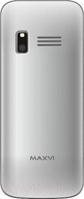 Мобильный телефон Maxvi X800 (серебристый)