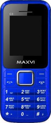 Мобильный телефон Maxvi C3 (синий)