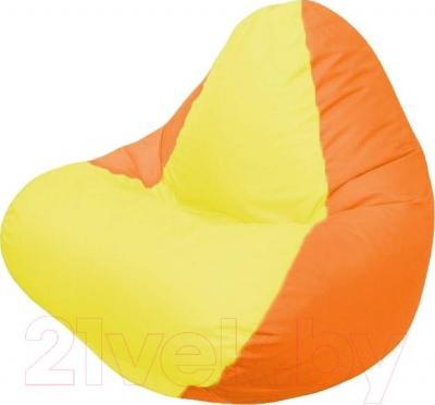 Бескаркасное кресло Flagman Relax Г4.1-034 (желтый/оранжевый)