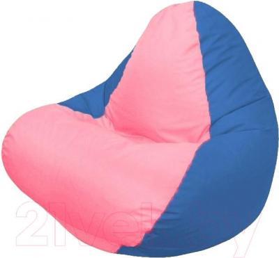 Бескаркасное кресло Flagman Relax Г4.1-047 (розовый/синий)