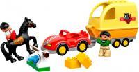 Конструктор Lego Duplo Трейлер для лошадок (10807) -