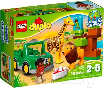 Конструктор Lego Duplo Вокруг света: Африка (10802)