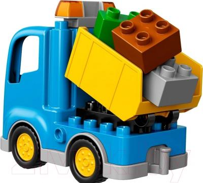 Конструктор Lego Duplo Грузовик и гусеничный экскаватор 10812