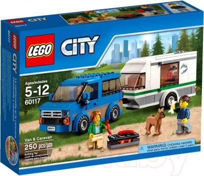 Конструктор Lego City Фургон и дом на колесах (60117)