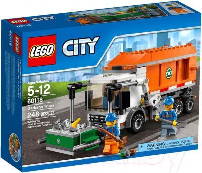Конструктор Lego City Мусоровоз (60118)