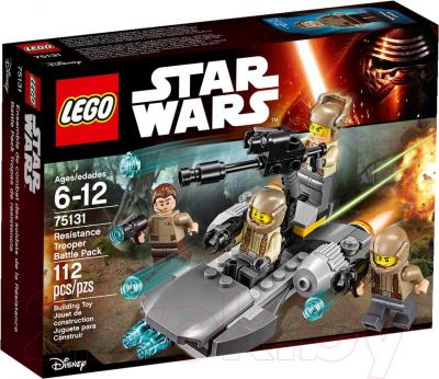 Конструктор Lego Star Wars Confidential Battle pack Episode 7 Heroe (75131)