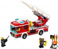 Конструктор Lego City Пожарный автомобиль с лестницей (60107) -