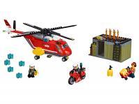 Конструктор Lego City Пожарная команда быстрого реагирования (60108) -