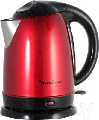 Электрочайник Moulinex Subito II BY530531 (красный)