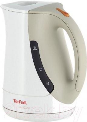 Электрочайник Tefal BF560140 Justine (бело-бежевый)