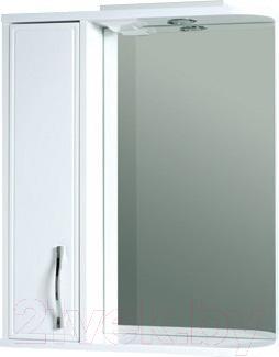 Шкаф с зеркалом для ванной Asomare Сильвер 60 (39.08-01)