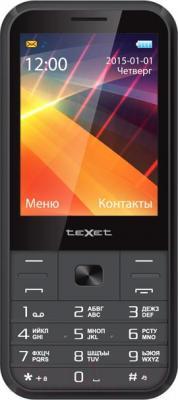 Мобильный телефон TeXet TM-229 (серый)