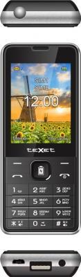 Мобильный телефон TeXet TM-D227 (черно-серебристый)