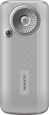Мобильный телефон Maxvi P10 (серебристый)