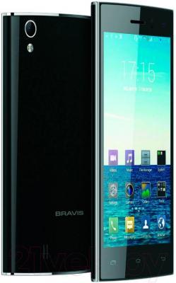 Смартфон Bravis Biz (черный)