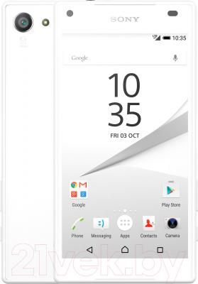 Смартфон Sony Xperia Z5 Compact / E5823RU/W (белый)
