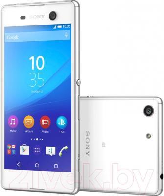 Смартфон Sony Xperia M5 Dual / E5633RU/W (белый)