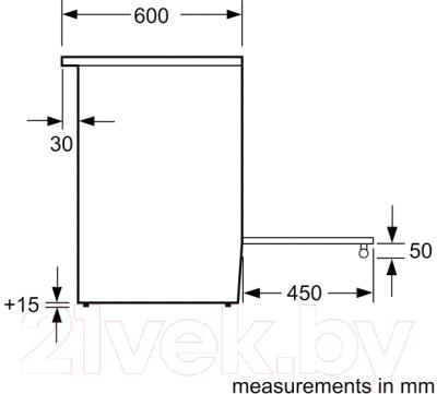 Кухонная плита Bosch HCA644150R
