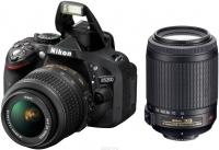 Зеркальный фотоаппарат Nikon D5200 (18-55mm VR II + 55-200mm VR II) -