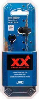 Наушники JVC HA-FX101-AEF - в упаковке