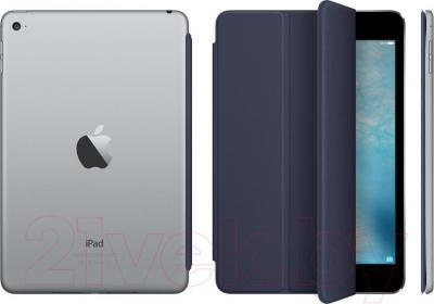 Чехол для планшета Apple Smart Cover Midnight Blue for iPad mini 4 (MKLX2ZM/A) - пример использования