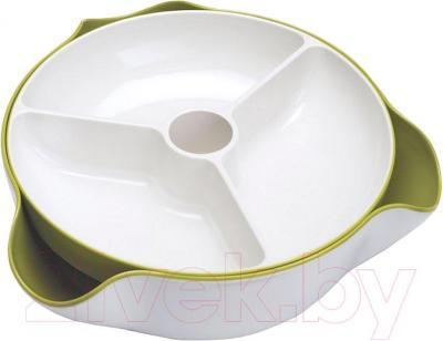 Блюдо для снеков Joseph Joseph Double Dish Large 70073