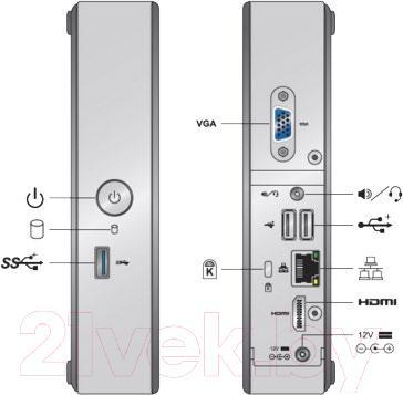 Системный блок Tibis NUC 815 (4-500)