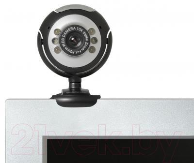 Веб-камера Defender C-110 (черно-серебристый)